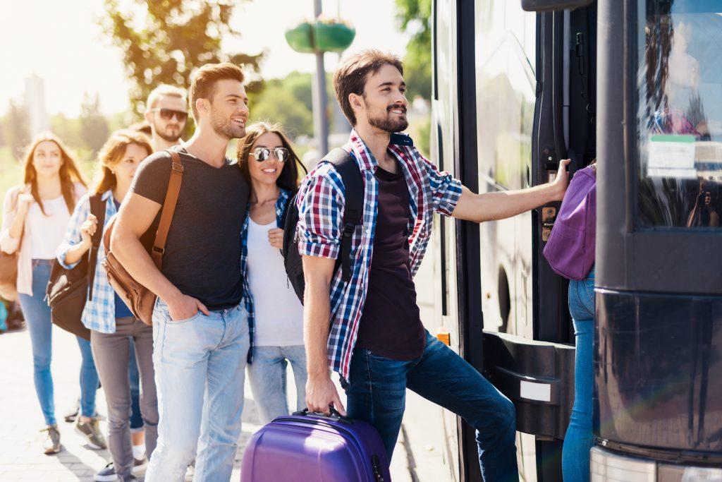 People travel