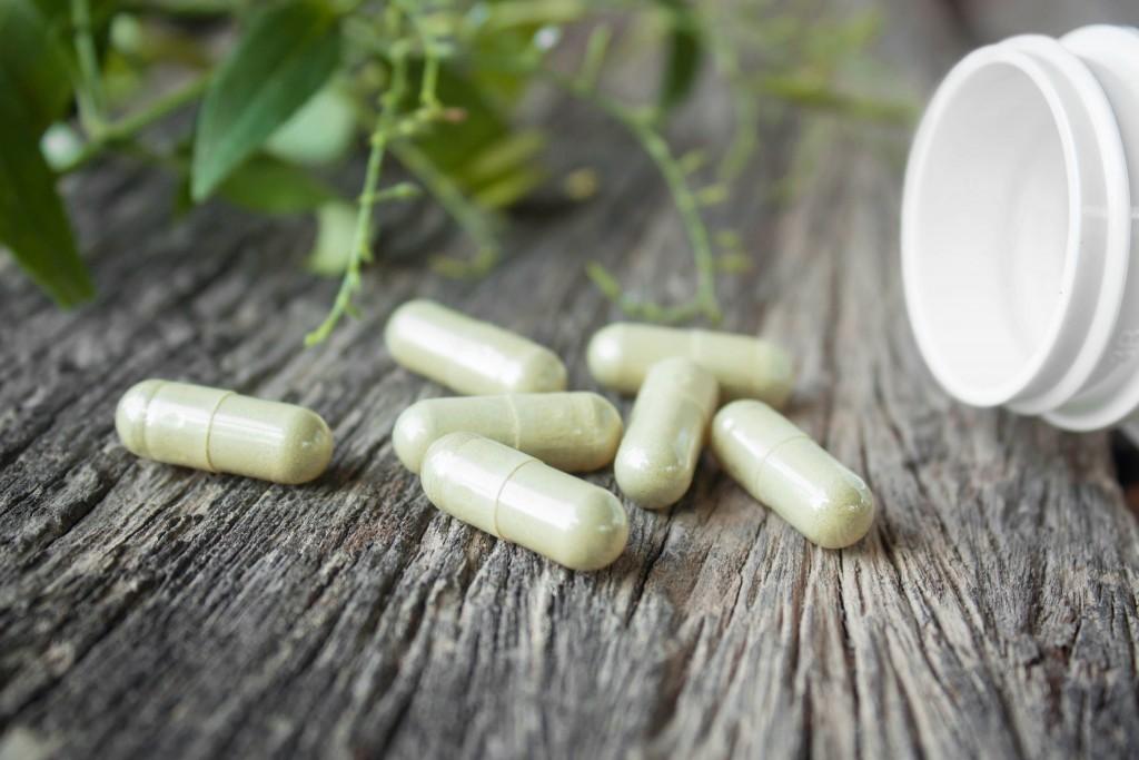 Herb capsules