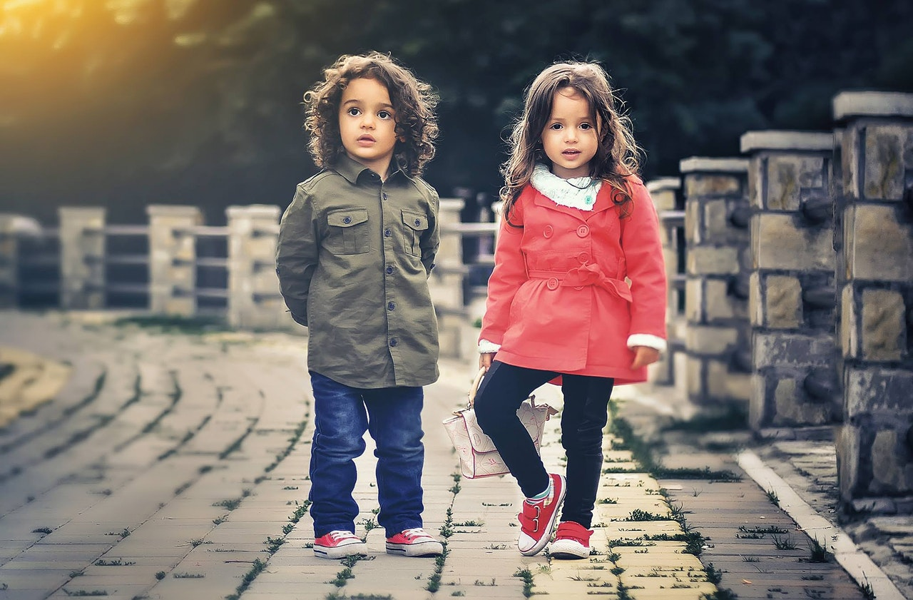 twin boy and girl